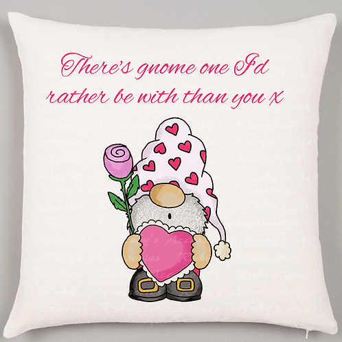 Gnome Valentines Collection, cushions, mugs, prints
