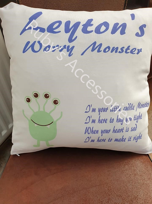 Worry Monster Cushions