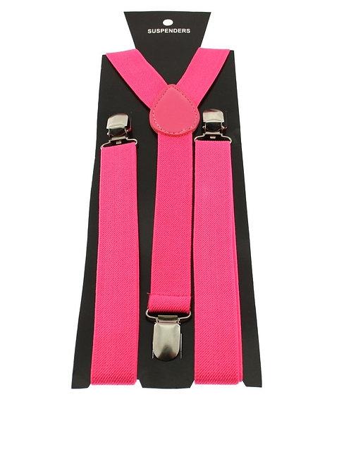 895P.  Pink Neon Braces