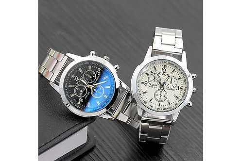 VOVO.  Mens Luxury stainless steel watch.