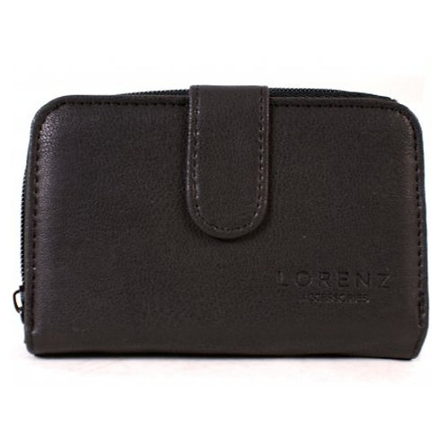 LOREZ5904.  LorezMedium sized soft leather purse