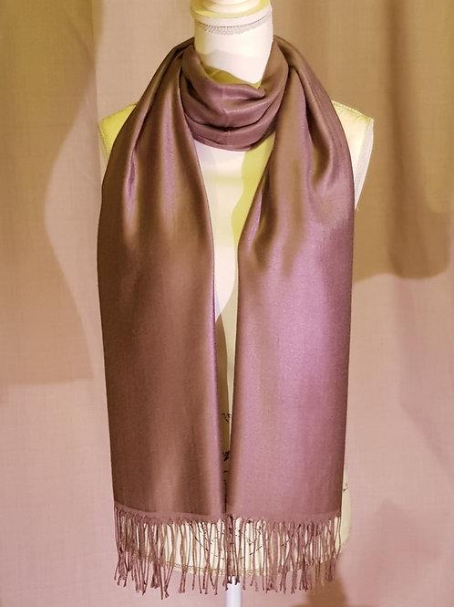 Mink pashmina scarf