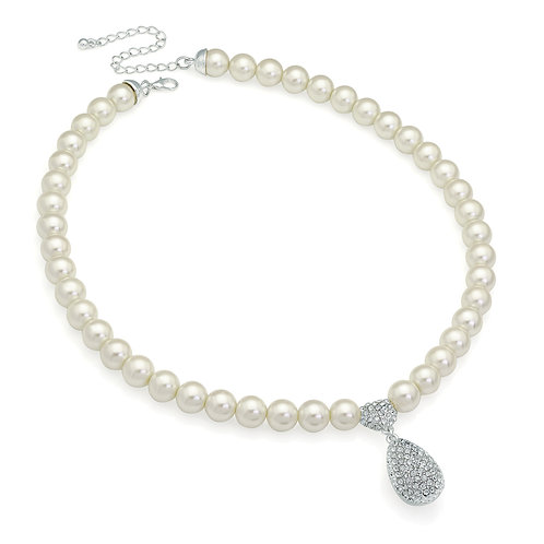 N29773 - Pearl pendant necklace.