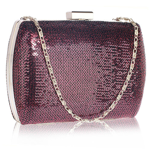 LSE00336.   Sequin Clutch