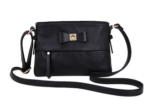 Z015-1.  Cross body bag with Bow detailed front