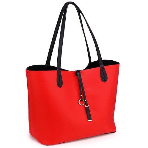 LS00567.  Large reversable laptop bag.