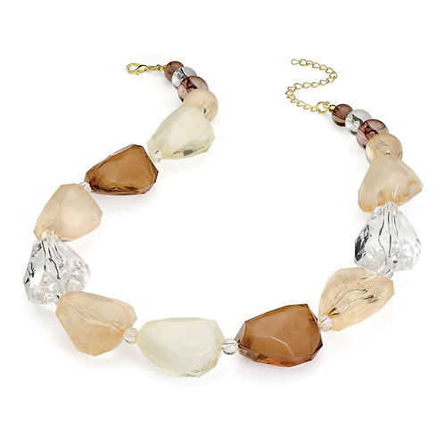 N29671.  Chunky bead necklace.
