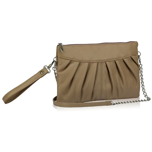 LSE00200.  Flapover Clutch Purse