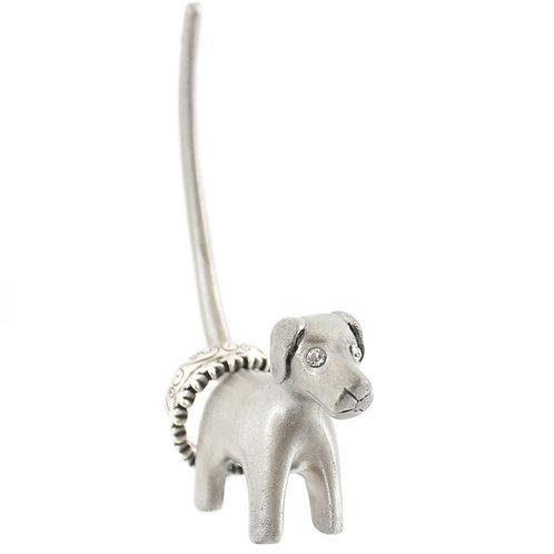 RH_28425.  Pretty little Dog Ring Holder.