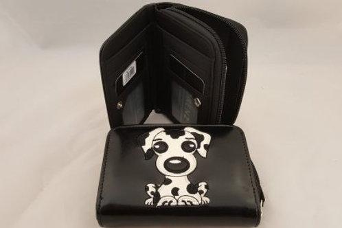 7101.  Cute embroidered dog purse.