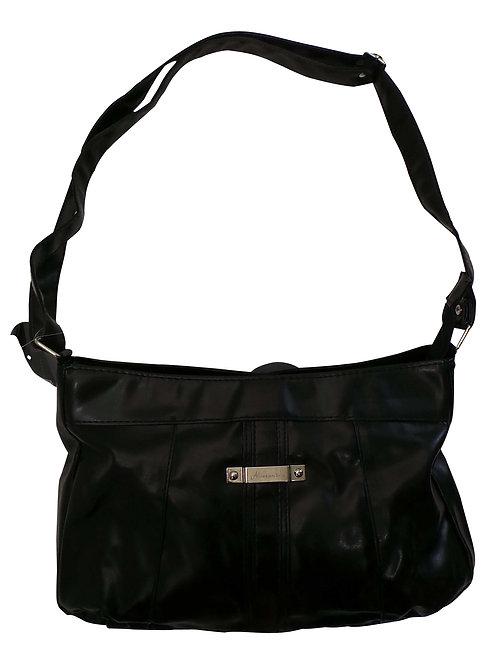 SKU19703WC.  Branded Ladies Black Handbags from Alessandro Salvatore.