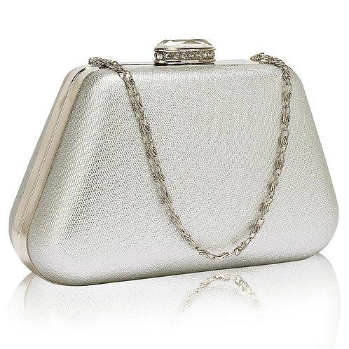 LSE00334. Diamante Crystal Clutch Bag.