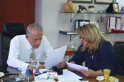 Reunião com o Prefeito de Goiânia Iris Rezende.
