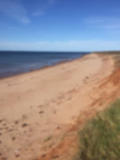 PEI north shore beach