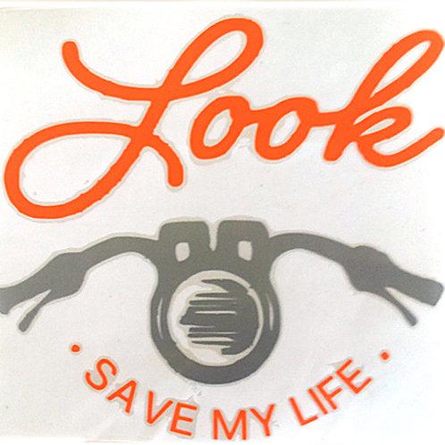 Save My Life Decal