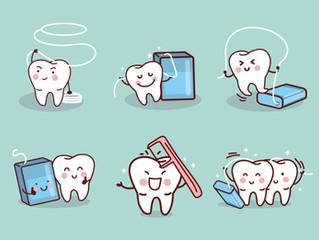 ايا تاكنون از نخ دندان درست استفاده كرده ايد؟.