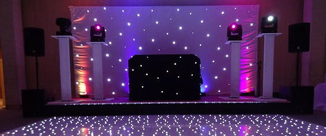 DJ Package Dancefloor and DJ Lighting Hire