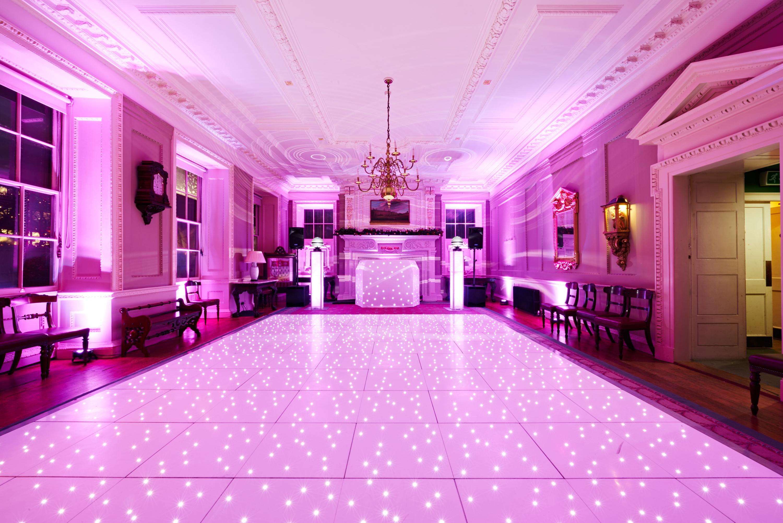 White Starlight LED Dancefloor Setup