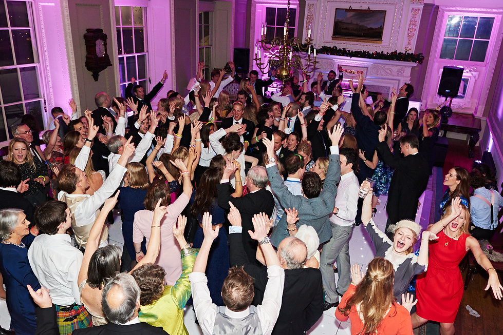 The best Wedding DJ in London, Busy dancefloor, DJ Terry Stevens , Capital DJ Services