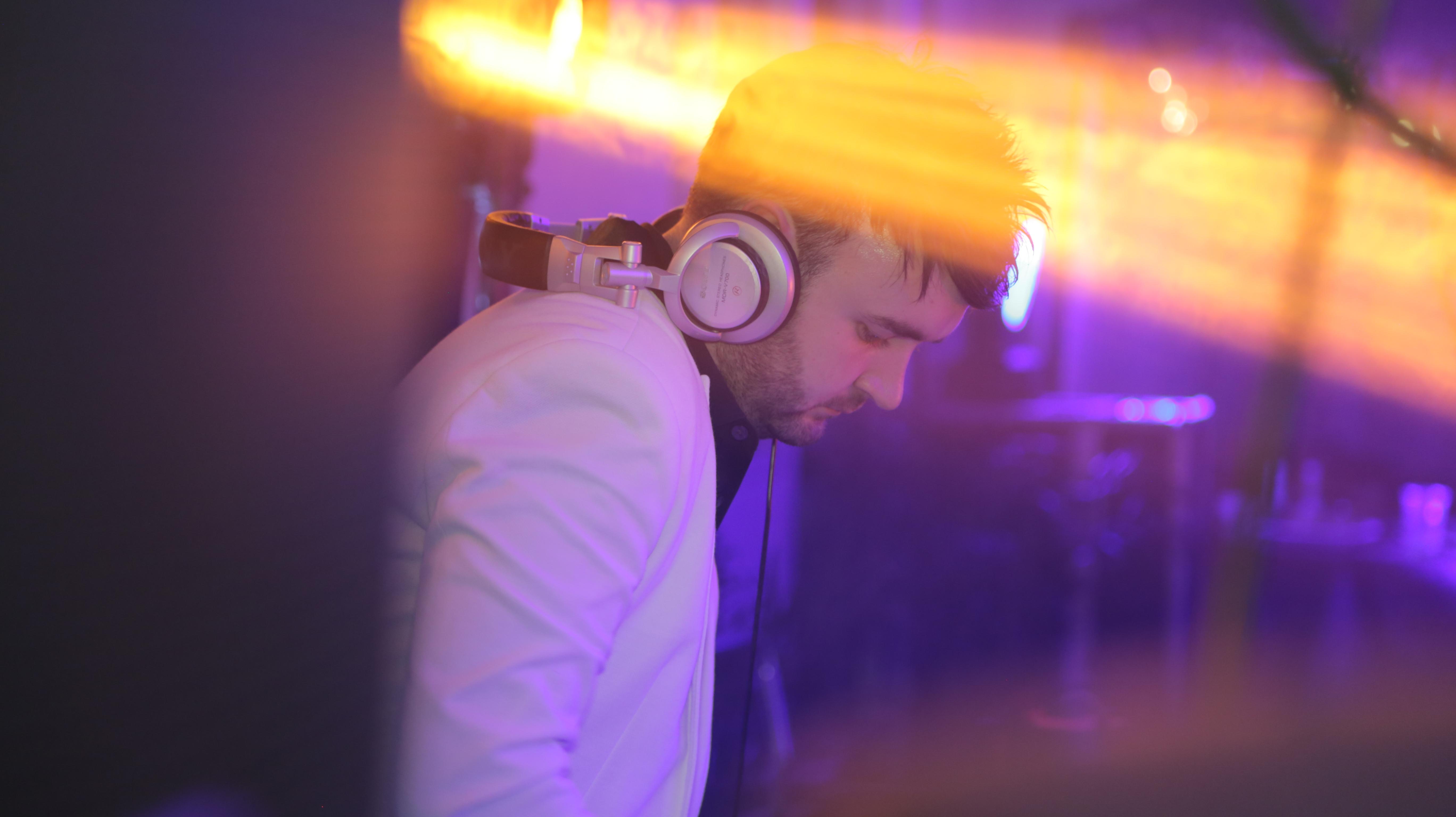 Professional DJ Terry Stevens