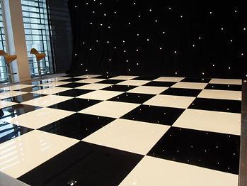 DJ Package Image Dancefloor and DJ Lighting
