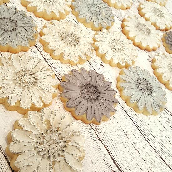 Palette-Knife Flower Cookies