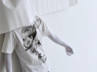 Ryo takahashi drawing T-shirts exhibition
