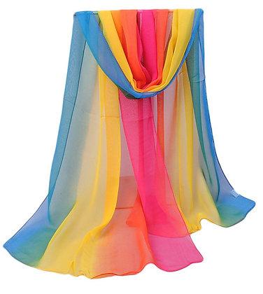 Rainbow Dancing Scarf
