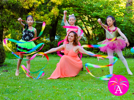 What is Ribbon Ballet & Rhythmic Gymnastics for Kids?