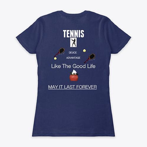Tennis short-sleeve t-shirt