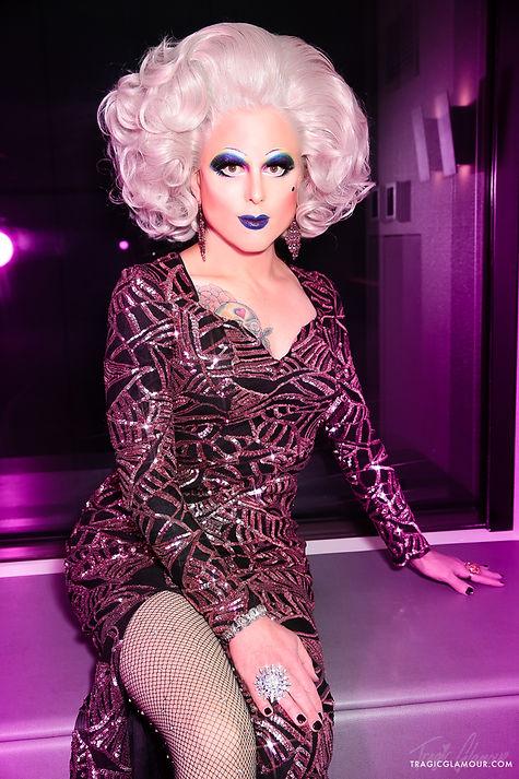 Photograph of San Francisco drag queen Elsa Touche