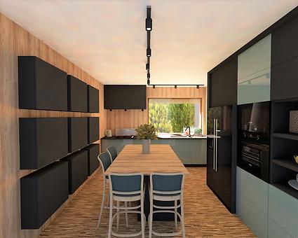 kuchnia justyna - architekt wnetrz