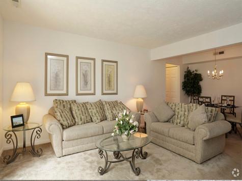 Windsor Place 1Bed Livingroom