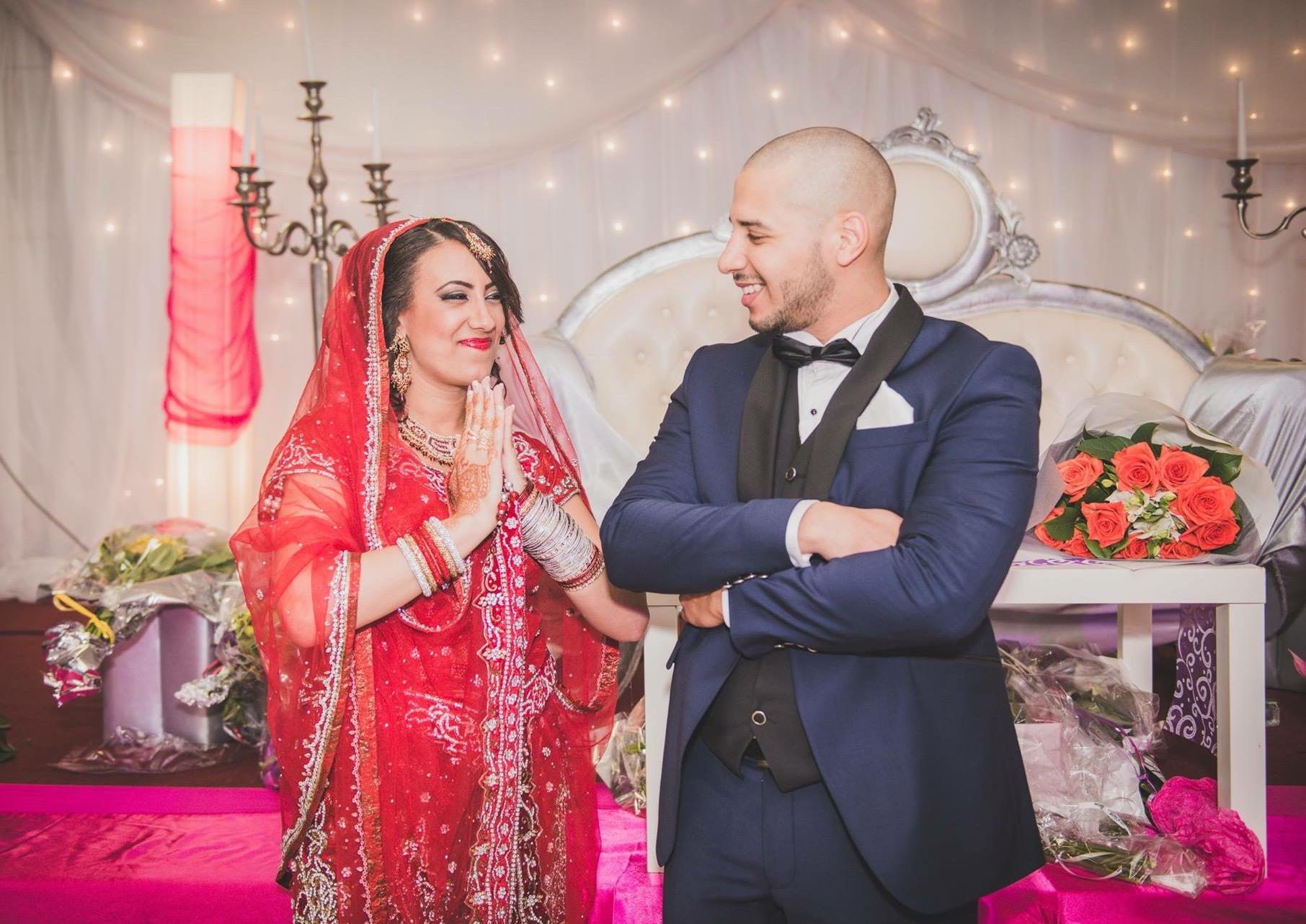 saree mariée, sari indien moderne