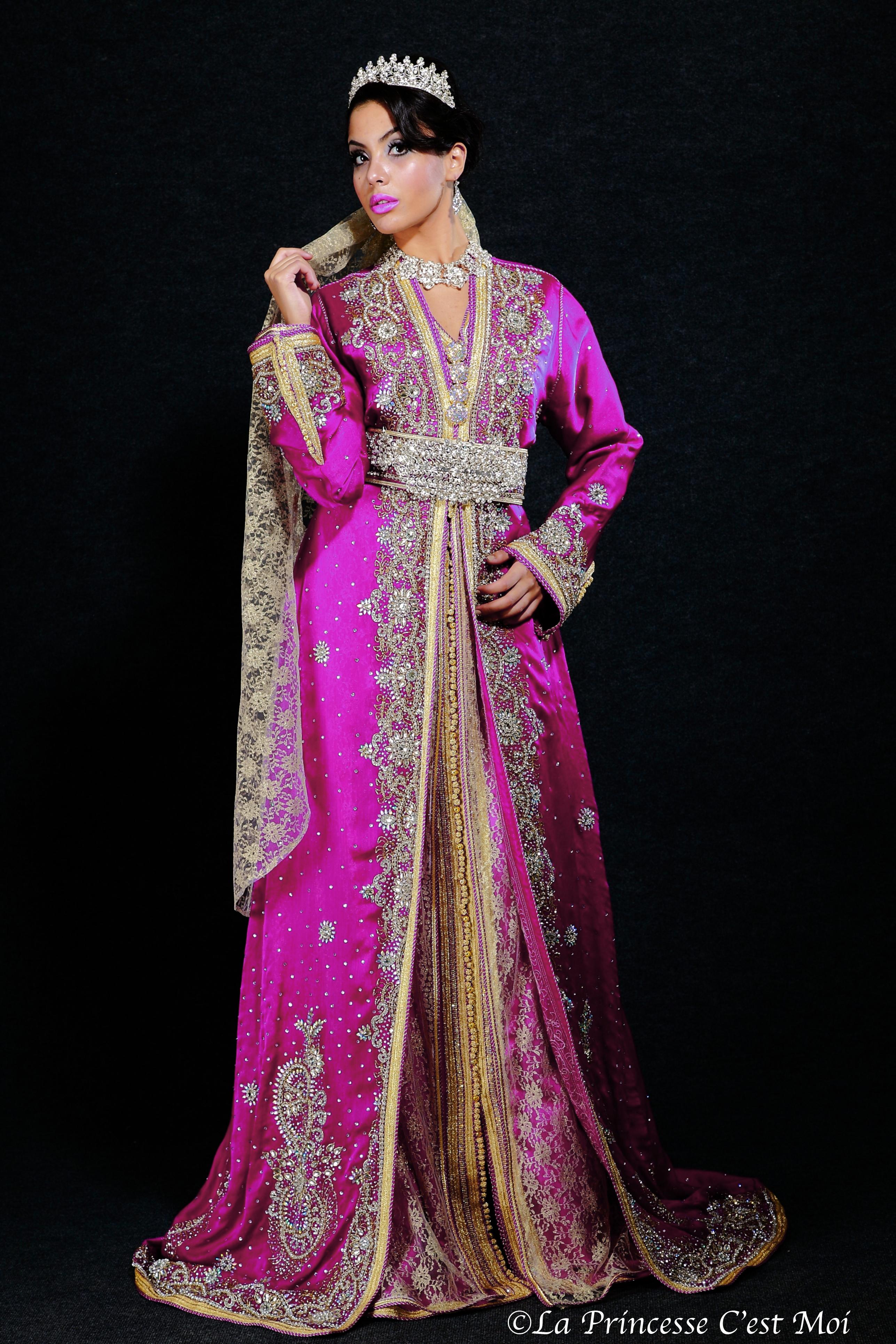 CAFTAN-robe mariée-NEGAFA PARIS