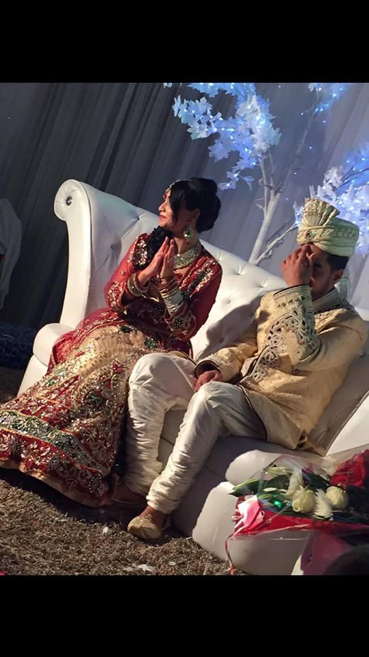 saree indien mariée, negafa