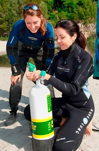 Enriched Air Scuba Diving
