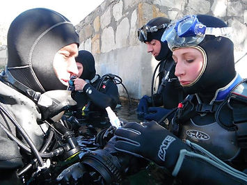 Colorado Scuba Diving Academy with students at Open Water dives