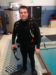 PADI Assistant Instructor Keith Soares