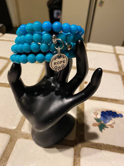 Hope Wire Wrapped Bracelet