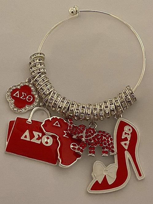 Delta Sigma Theta Charm II Bracelet