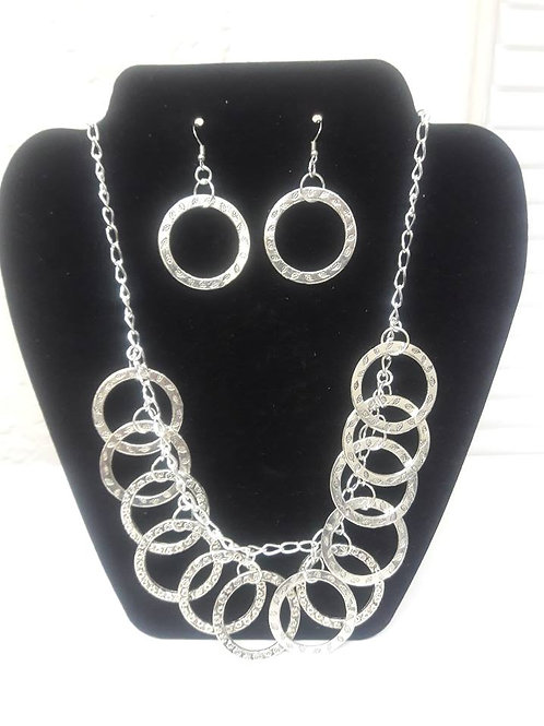 Large Circle of Life 3 pc Necklace Set