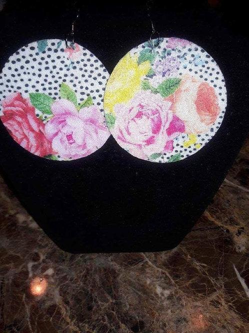 Flower Felt Earrings