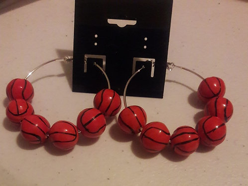 BasketBall Hoop Earrings