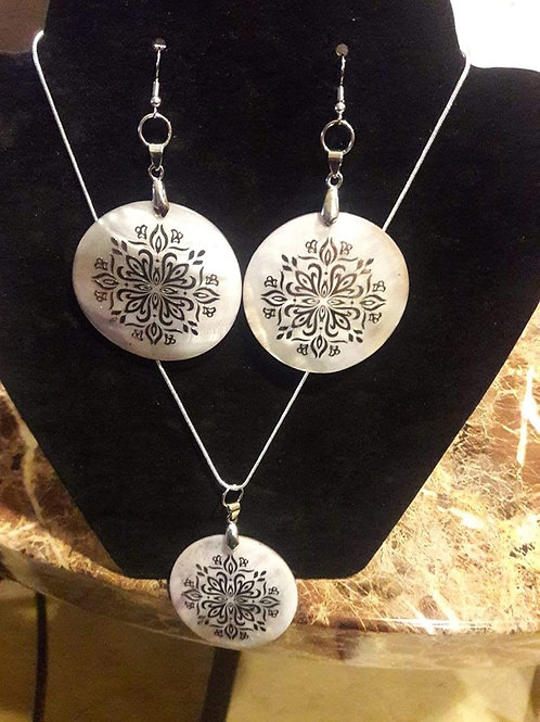 Three Circle Chain of Life 2 pc Set