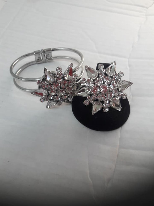 SilverStar Ring & Bracelet Set