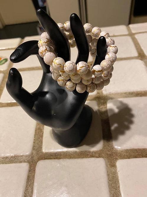 Pearl Wire Bracelet