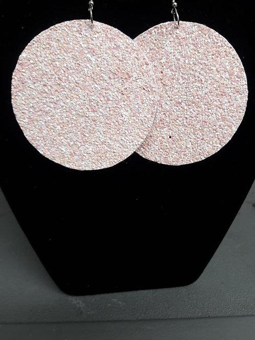 Small Sandy Pink Earrings