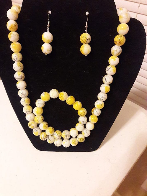 SunKiss Yellow Neck Set