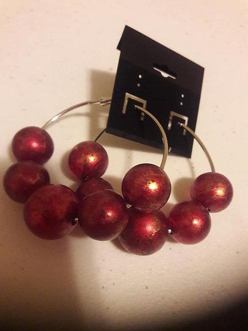 Redd Hoop Earrings